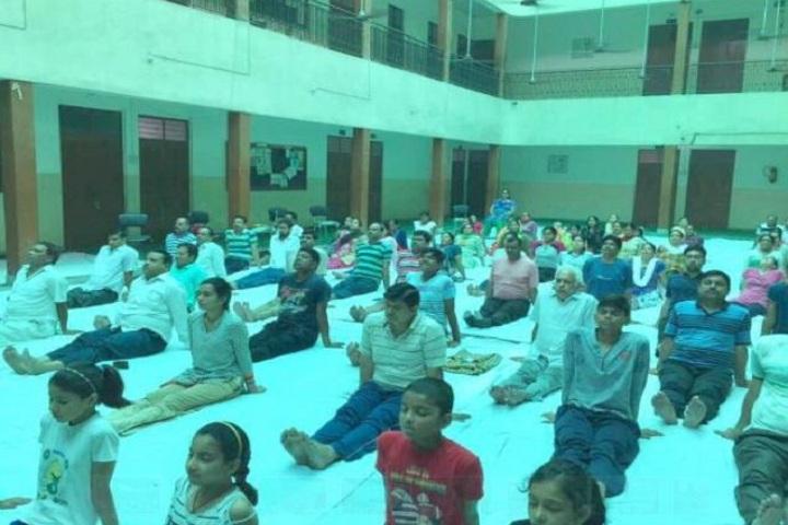 MG Public School-Yoga