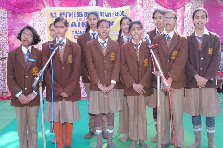 MS Heritage School - Singing Event