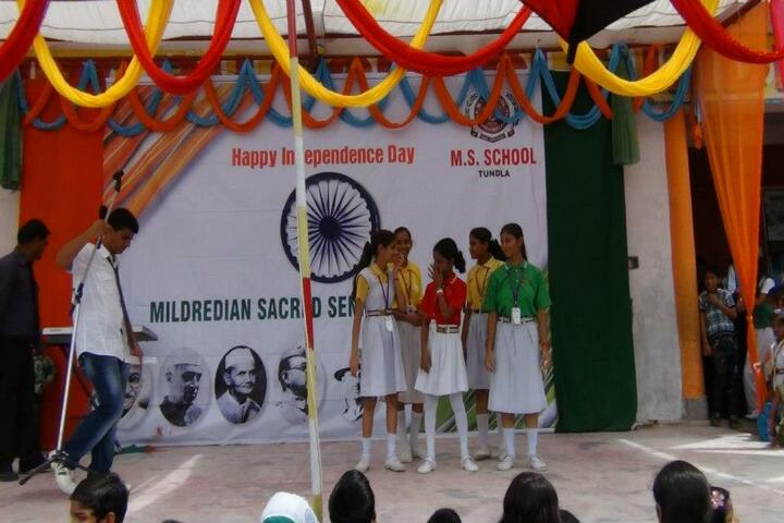 MS School - Independence Day Celebrations
