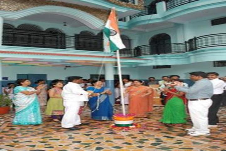 M V Convent Inter College-Independence Day