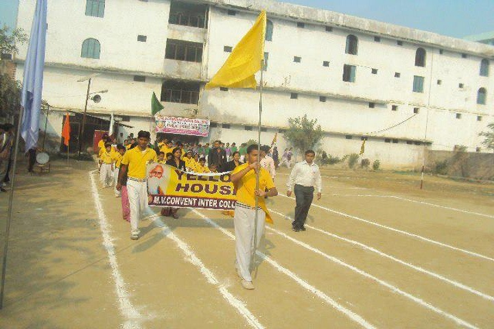 M V Convent Inter College-Sports Day