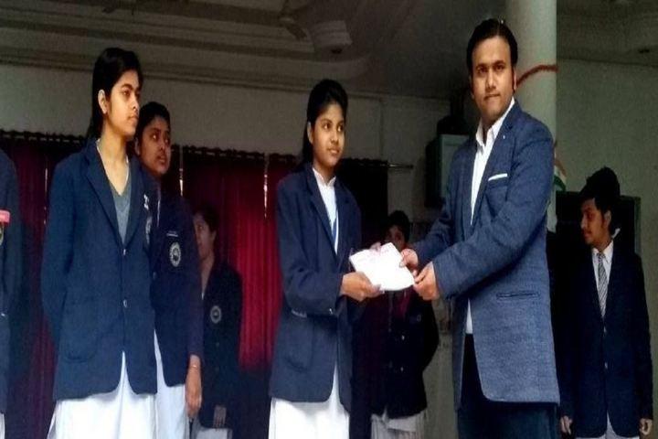 M G Convent School-Certificate Distribution