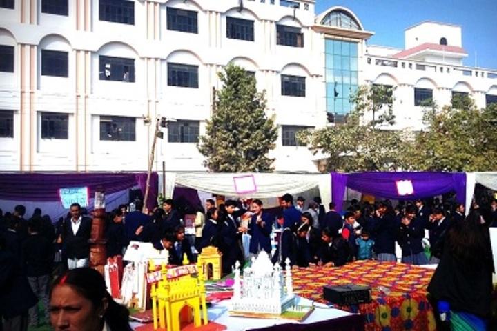 M G Convent School-Science Exhibition