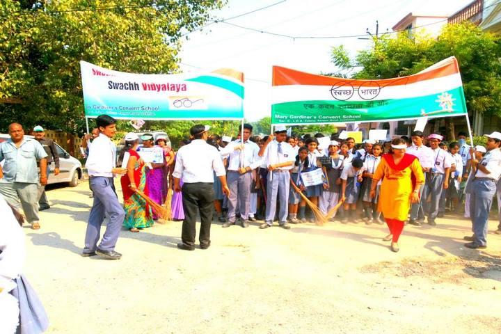 M G Convent School-Swach Bharat