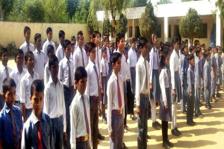 M A S Public School-Morning Assembly
