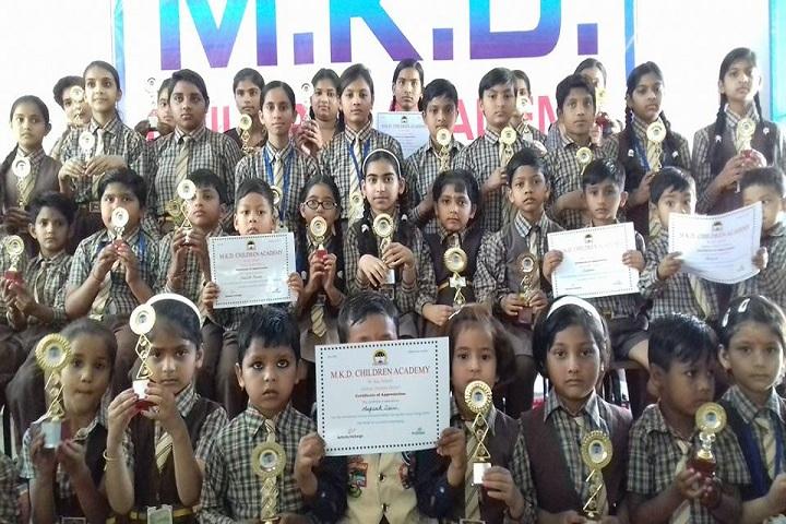 MKD Children Academy - Award Receiving