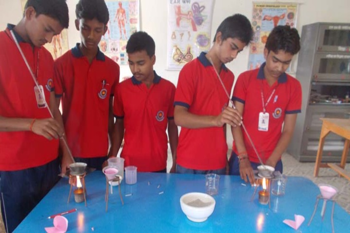 MNB Memorial Public School-Chemistry Lab