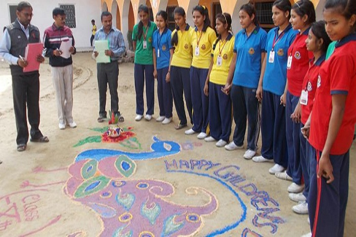 MNB Memorial Public School-Rangoli Presentation