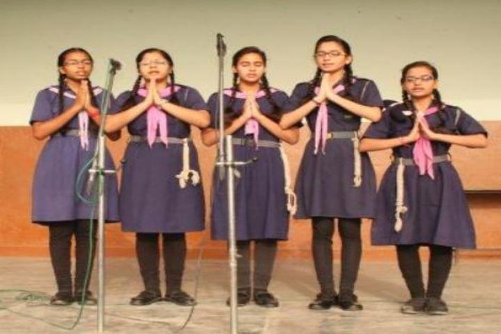 M P S M Grace Convent School-Singing
