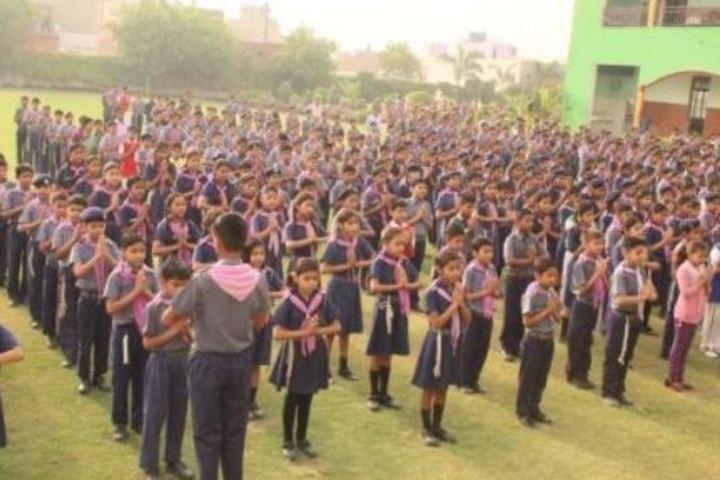 M P S M Grace Convent School-Assembly Ground