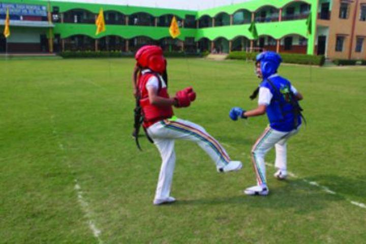 M P S M Grace Convent School-Sports