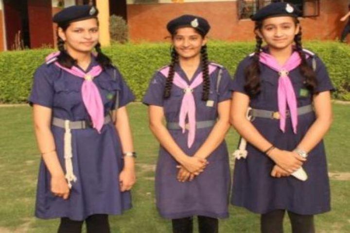 M P S M Grace Convent School-Students