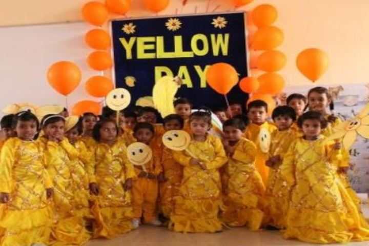MPSM Grace Convent School-Yellow Day