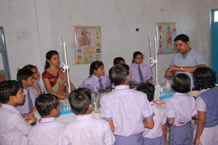 M S International School-Chemistry Lab