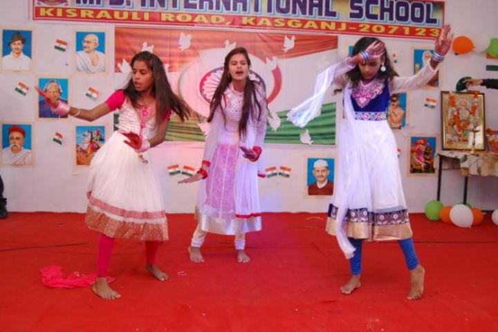 M S International School-Dance