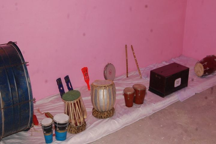 M S International School-Music Room