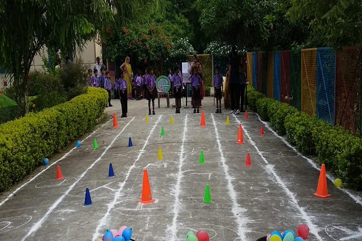 M V Convent School and College-Games