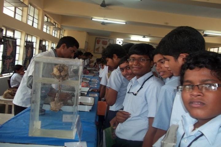 Dr K K R Gowtham International School-Science Exhibition