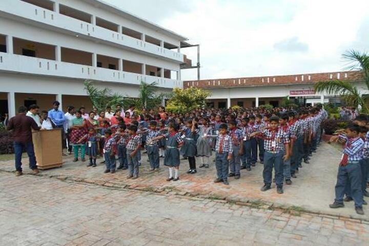 Maa Durgavati Public School-Assembly
