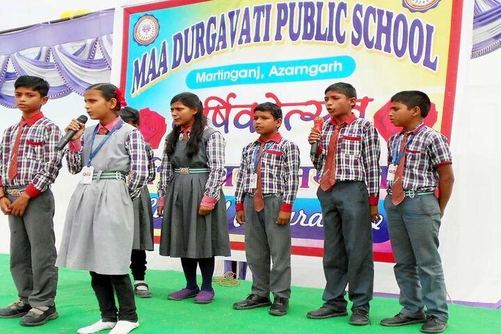 Maa Durgavati Public School-Group Singing