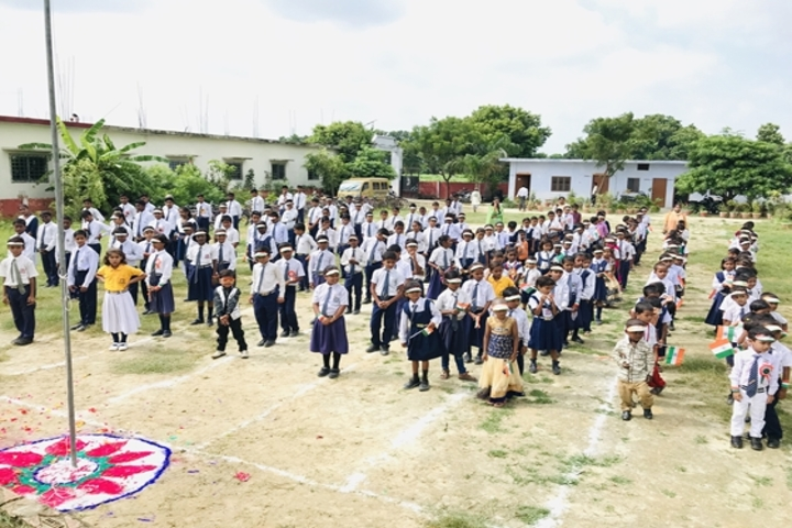 Maa Kaushilya Secondary School-Morning-Assembly