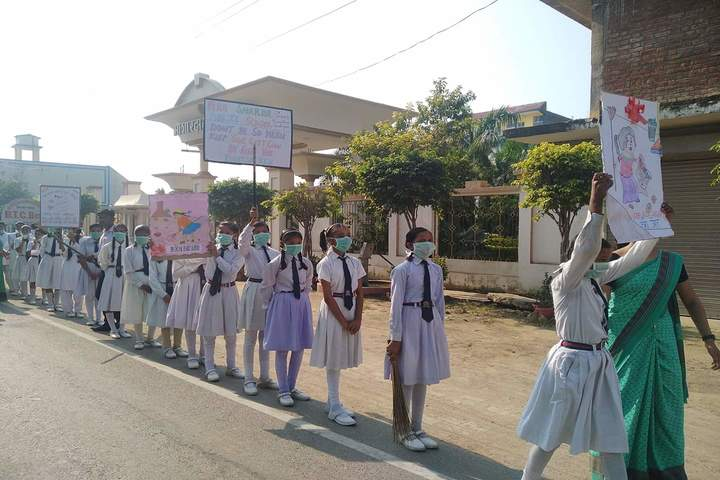 Maa Sharda Public School-Swach Bharath