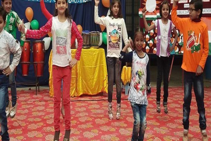 Madhav Rao Scindia Public School-Kids Dance