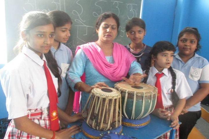 Madhav Rao Scindia Public School-Music Class