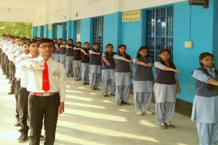 Madhav Rao Scindia Public School-Students