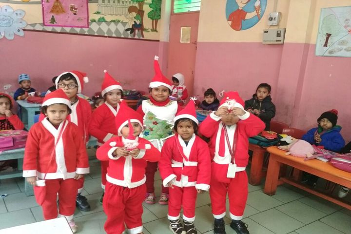 Maharaja Agrasen Public School-Christmas Celebration