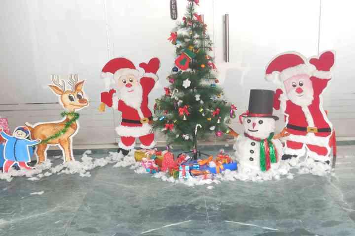Maharishi Vidya Mandir-Christmas Celebration