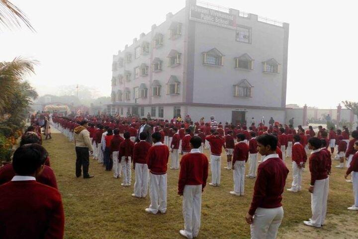 Swami Vivekanand Public School-Assembly