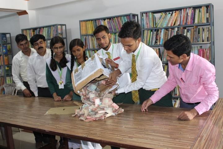 Mahatama Jyoti Rao Phule Public School-Library