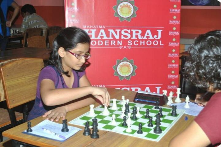 Mahatma Hansraj Modern School-Indoor Games