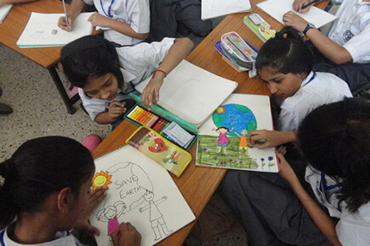 Mahatma J.F. Public School-Art room