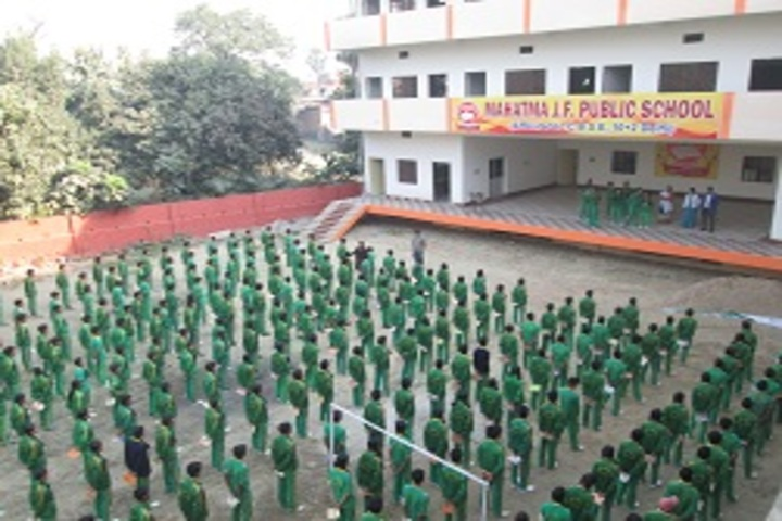 Mahatma J.F. Public School-Assembly