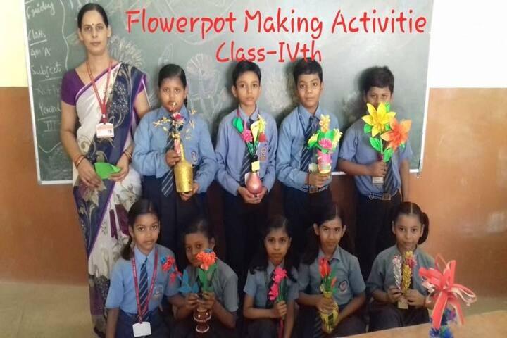 Mahatma J.F. Public School-Class Activity
