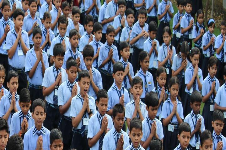 Mahi International School-Assembly