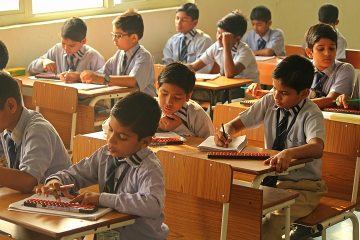 Mahi International School-Classroom