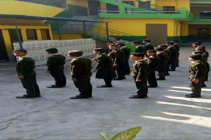 Mahima Public School-Assembly