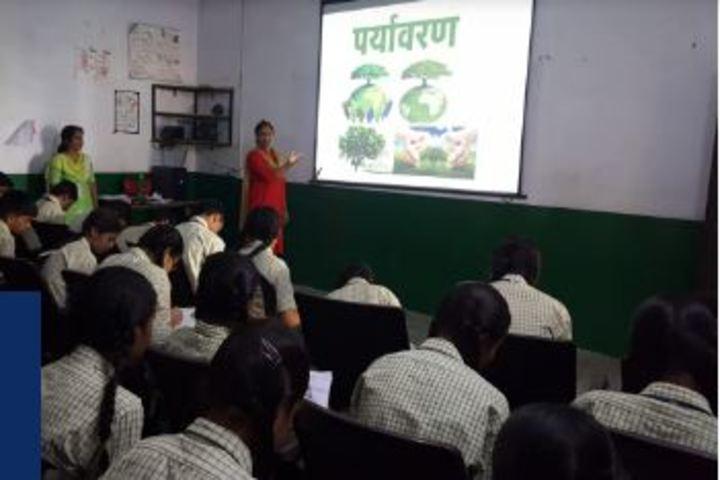 Mahima Public School-Environment class