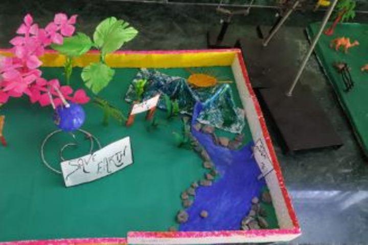 Mahima Public School-Global Warming Awareness
