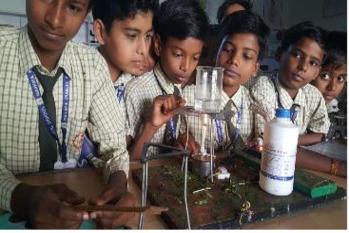 Mahima Public School-Science Lab