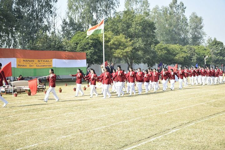 Manas Sthali Public School-Republic day