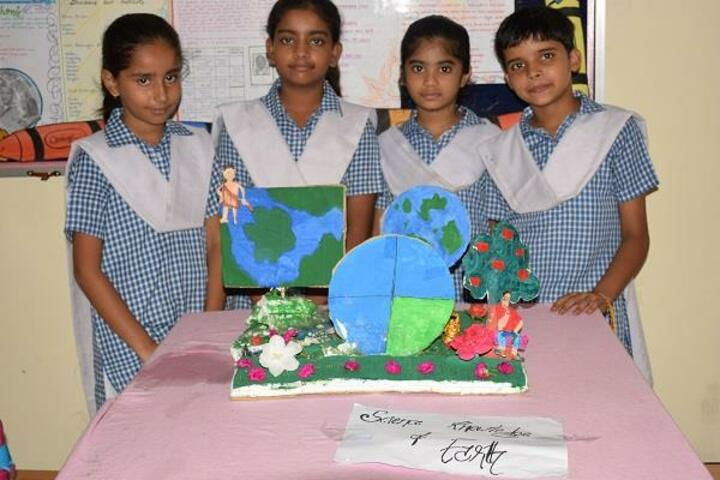 Manas Sthali Public School-Science Exhibition