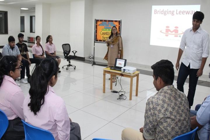 Manav Rachna International School-Counselling session