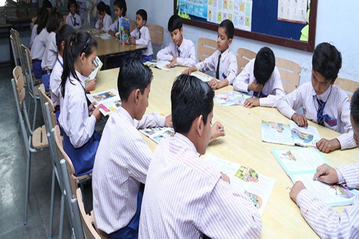 Mantora Public School-Library