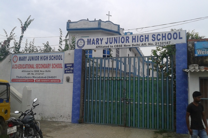Mary Junior High School-Campus view
