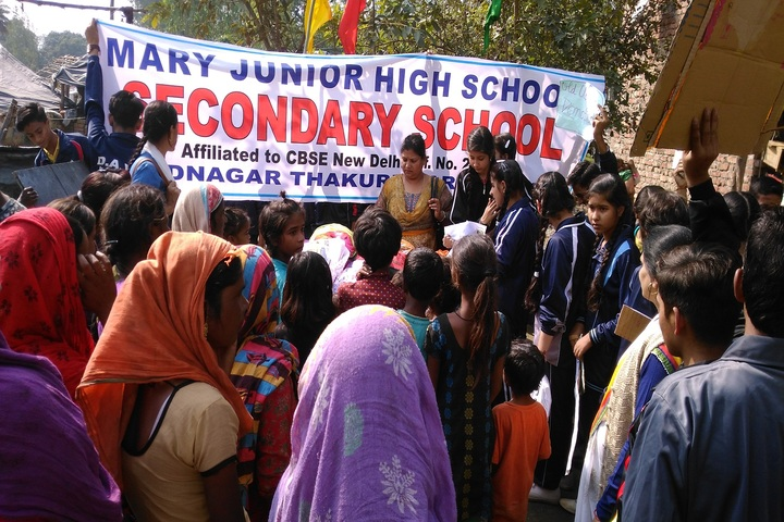 Mary Junior High School-Social Awareness Camp