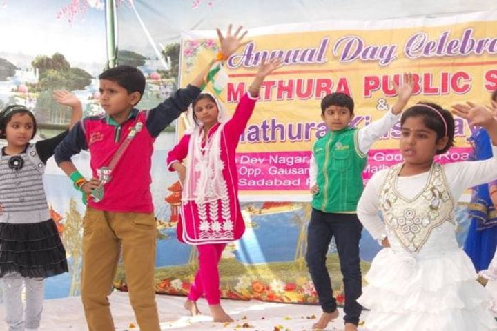 Mathura Public School-Dance
